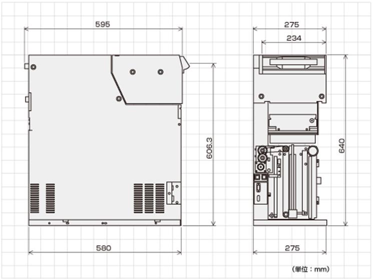 BEU-210外形寸法図
