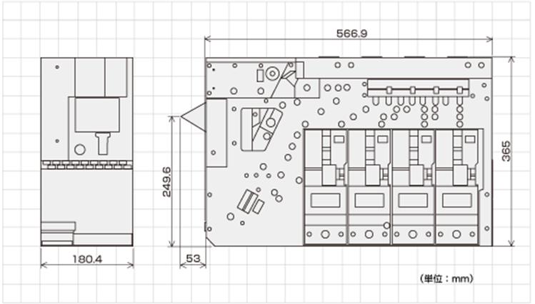 SM-32XXシリーズ外形寸法図