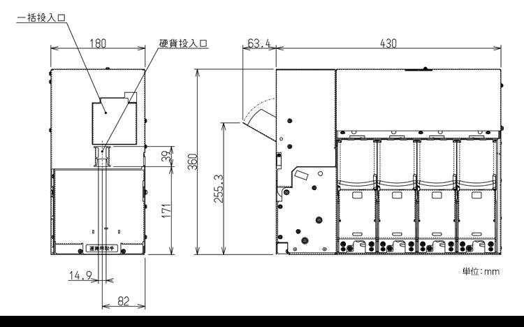 ESM-38XXシリーズ外形寸法図