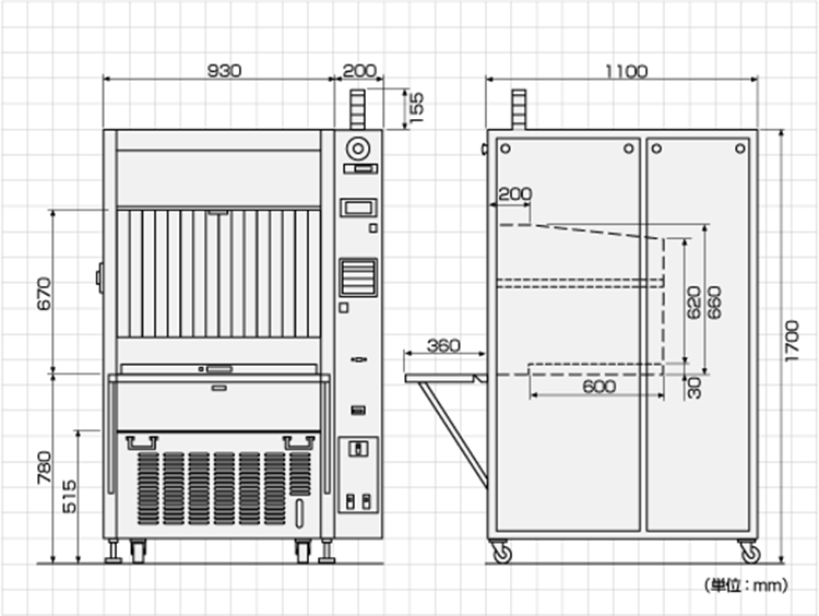 OTC-2D外形寸法