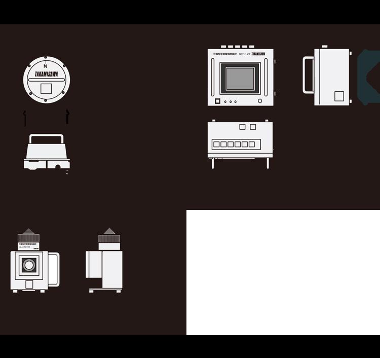 STR-121外形寸法図