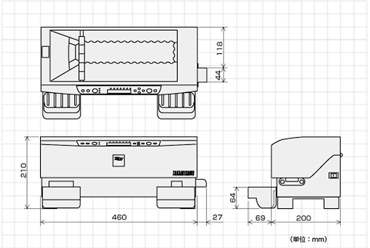 VCCS-2000外形寸法図